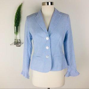Lauren Ralph Lauren Pinstriped Blazer Size (2P)